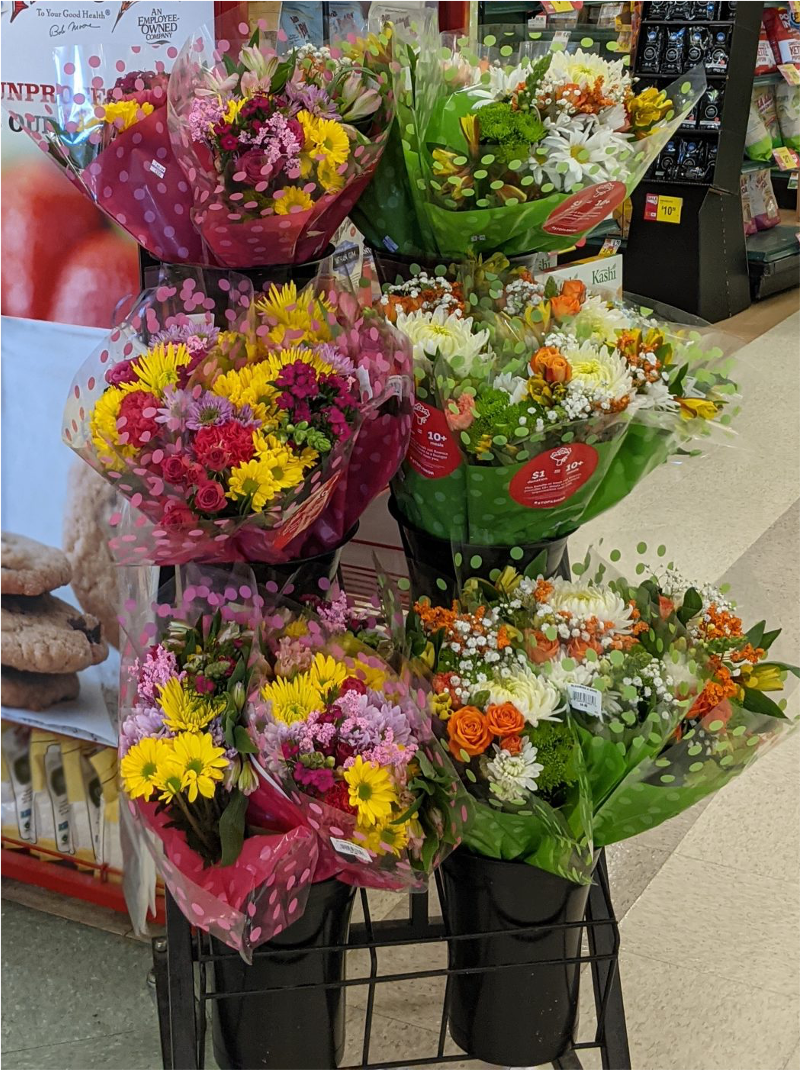 SAS-In Store Bouquets